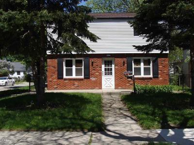 Center Line Single Family Home For Sale: 8503 Harding