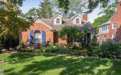 Grosse Pointe Single Family Home For Sale: 847 Washington Rd
