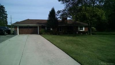Clinton Township Single Family Home For Sale: 36080 Harcourt