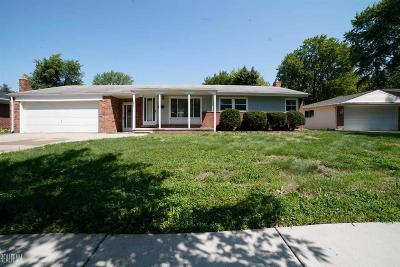 Clinton Township Single Family Home For Sale: 23731 Demley