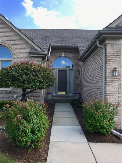 Macomb Twp Condo/Townhouse For Sale: 20316 Columbia