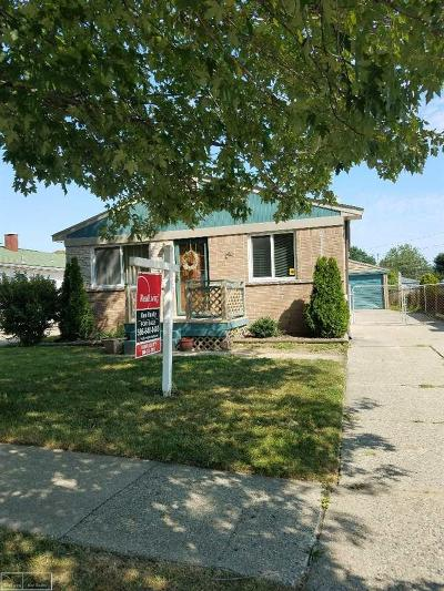 Clinton Township Single Family Home For Sale: 19525 Opal