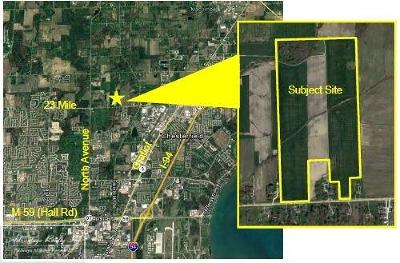 Macomb MI Residential Lots & Land For Sale: $2,090,000