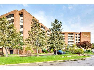 Saint Clair Shores Condo/Townhouse For Sale: 3713 Country Club