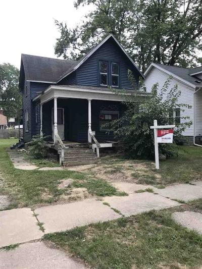 Mount Clemens Single Family Home For Sale: 55 Hubbard Street