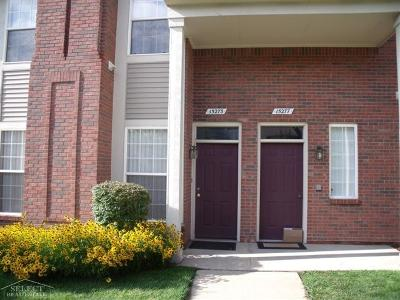 Clinton Township Condo/Townhouse For Sale: 15273 Yale
