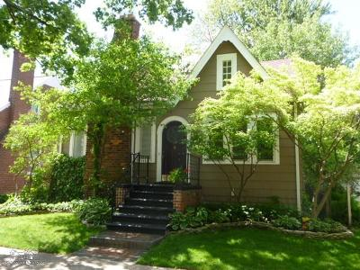 Grosse Pointe Farms Single Family Home For Sale: 95 Mapleton Rd