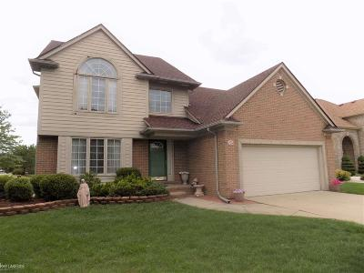 Shelby Twp Single Family Home For Sale: 47039 Willingham Way