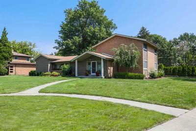 Grosse Pointe Park Single Family Home For Sale: 600 Middlesex