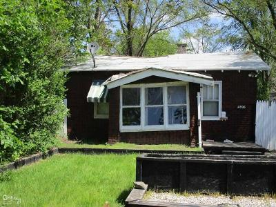 Grosse Pointe Single Family Home For Sale: 4896 Opal
