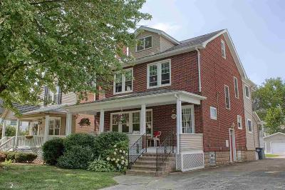 Grosse Pointe Single Family Home For Sale: 599 Saint Clair