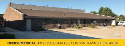 Clinton Township Commercial Lease For Lease: 43191 Dalcoma