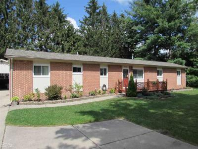 Troy Single Family Home For Sale: 2679 E Square Lake