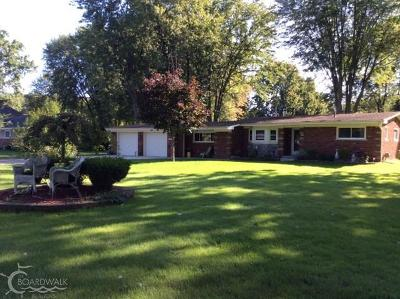 Harrison Twp Single Family Home For Sale: 38860 Hamon