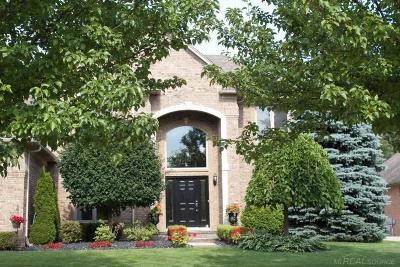 Shelby Twp Single Family Home For Sale: 52250 Chickadee Lane
