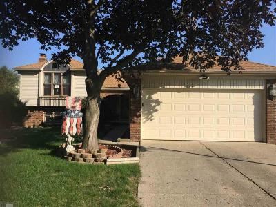 Clinton Township Single Family Home Sold: 15461 Vincent