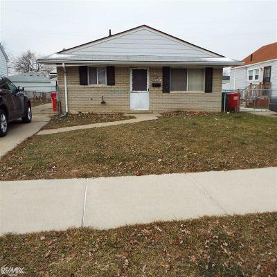 Eastpointe Single Family Home For Sale: 22771 Rein Rd.