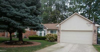 Sterling Heights Single Family Home For Sale: 5441 Chadbourne Dr