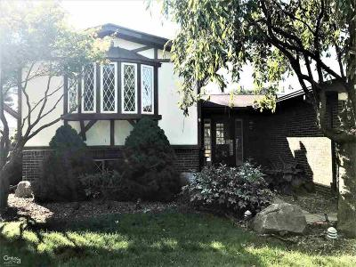 Sterling Heights Single Family Home For Sale: 4628 Dickson