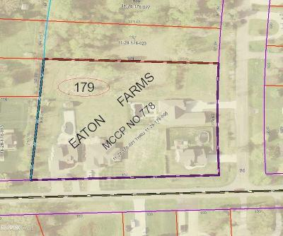 Clinton Township Residential Lots & Land For Sale: 36051 Eaton Drive