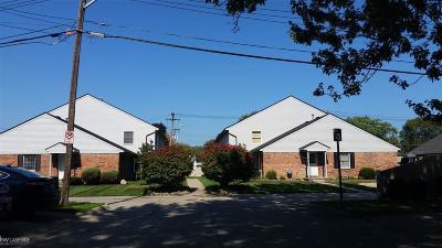 Saint Clair Shores Condo/Townhouse For Sale: 307 Bon Brae