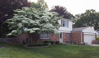 Troy Single Family Home For Sale: 5933 Slate