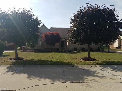 Utica Single Family Home For Sale: 53797 Buckingham Lane