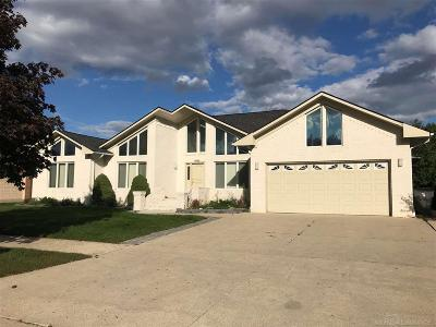 Clinton Township Single Family Home For Sale: 35860 Monterey Dr.