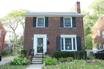 Grosse Pointe Farms Single Family Home For Sale: 421 Maison