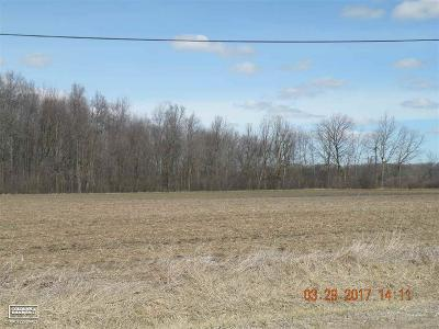 Richmond Residential Lots & Land For Sale: 33 Mile Road