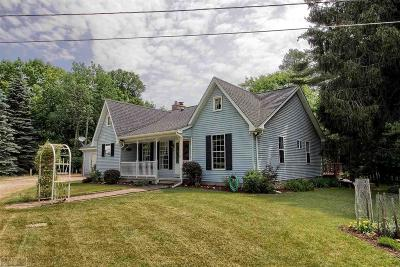 Romeo, Richmond Single Family Home For Sale: 70400 Dequindre