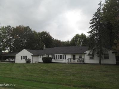 Clinton Township Single Family Home For Sale: 36567 Eaton Dr