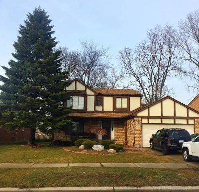 Troy Single Family Home For Sale: 1682 Hillman