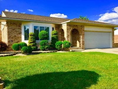 Sterling Heights MI Single Family Home For Sale: $255,900