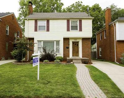 Royal Oak Single Family Home For Sale: 1101 N Washington Ave