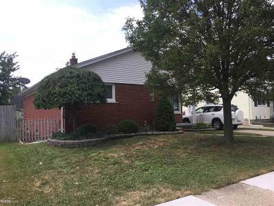Saint Clair Shores Single Family Home For Sale: 20208 Rosedale