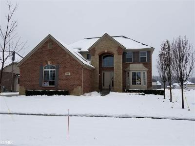 Shelby MI Single Family Home For Sale: $512,900