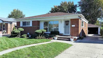 Saint Clair Shores Single Family Home For Sale: 28818 Joan