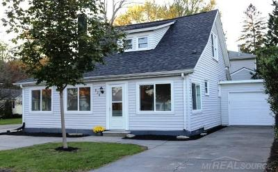Algonac Single Family Home For Sale: 236 Mackie