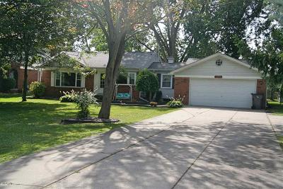 Clinton Township Single Family Home For Sale: 18956 Faulman