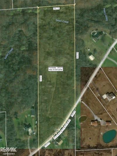 Residential Lots & Land For Sale: Swan Creek