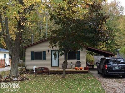 Algonac Single Family Home For Sale: 9085 Island Dr
