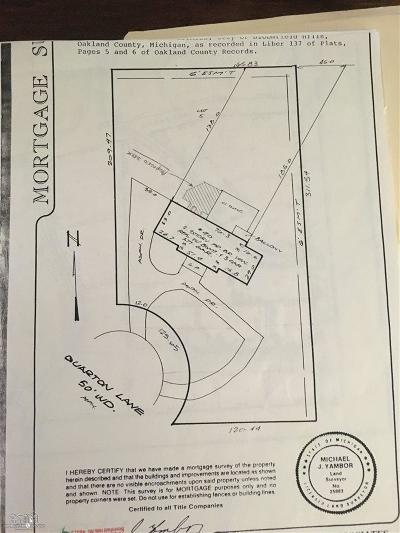 Bloomfield Hills Residential Lots & Land For Sale: 90 Quarton Ln