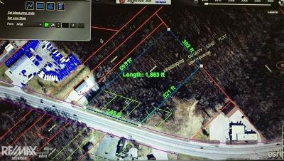 New Baltimore Residential Lots & Land For Sale: M-29/Green St