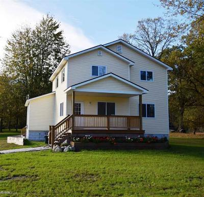 Algonac Single Family Home For Sale: 8866 Marsh