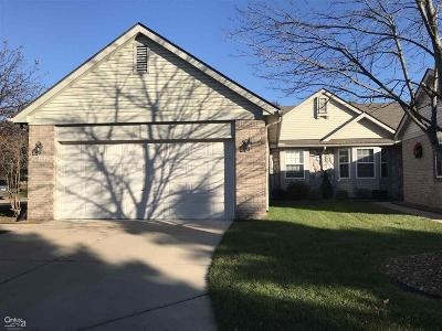 Sterling Heights Condo/Townhouse For Sale: 41222 Bermuda