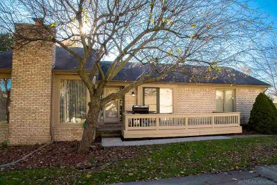 Clinton Township Condo/Townhouse For Sale: 43068 W Kirkwood