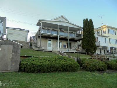 St. Clair Single Family Home For Sale: 105 Gratiot