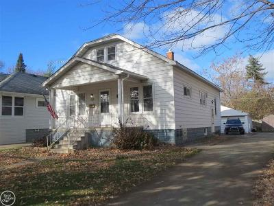 Mount Clemens Single Family Home For Sale: 118 High Street
