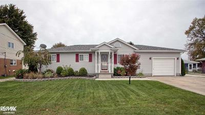 Algonac Single Family Home For Sale: 6409 Dyke